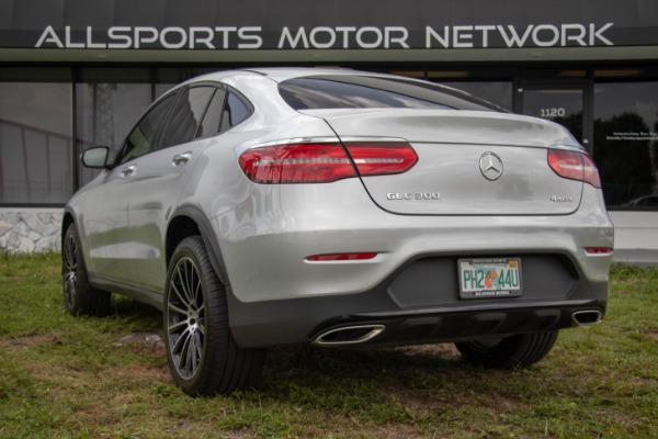 Used 2017 Mercedes-Benz GLC Coupe AMG Sport Pkg. GLC 300 4MATIC | Miami, FL n14