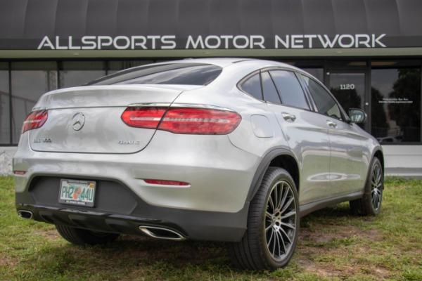 Used 2017 Mercedes-Benz GLC Coupe AMG Sport Pkg. GLC 300 4MATIC | Miami, FL n16