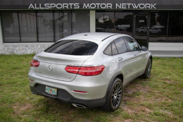 Used 2017 Mercedes-Benz GLC Coupe AMG Sport Pkg. GLC 300 4MATIC | Miami, FL n19