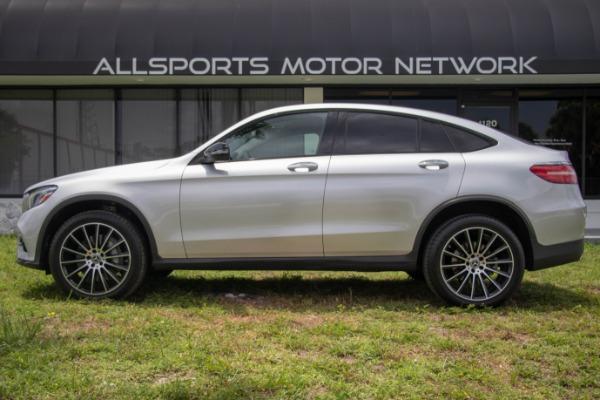 Used 2017 Mercedes-Benz GLC Coupe AMG Sport Pkg. GLC 300 4MATIC | Miami, FL n30