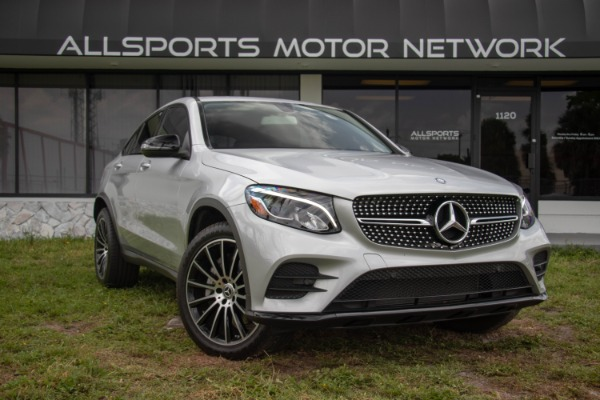 Used 2017 Mercedes-Benz GLC Coupe AMG Sport Pkg. GLC 300 4MATIC | Miami, FL n8