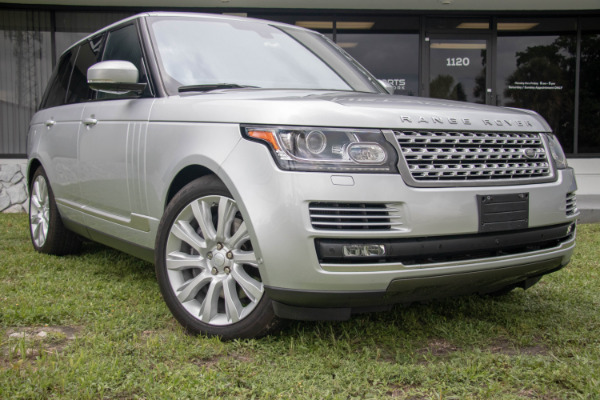Used 2016 Land Rover Range Rover Supercharged | Miami, FL n8