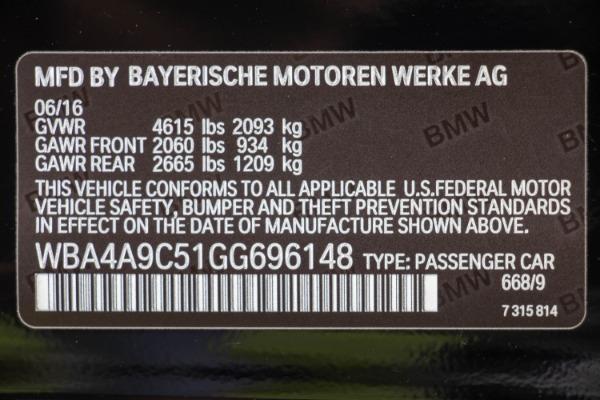 Used 2016 BMW 4 Series 428i Gran Coupe   Miami, FL n52