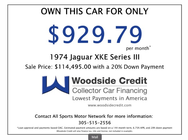Used 1974 Jaguar E-Type XKE Series III | Miami, FL n69
