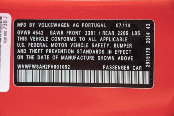 Used 2015 Volkswagen Eos Executive Edition SULEV | Miami, FL n59
