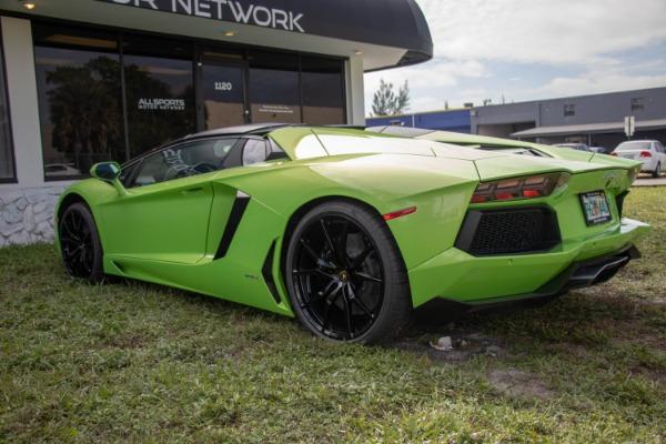 Used 2015 Lamborghini Aventador LP 700-4 Roadster | Miami, FL n14