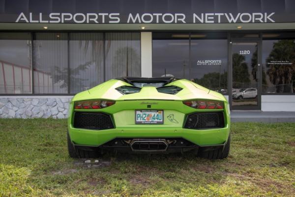 Used 2015 Lamborghini Aventador LP 700-4 Roadster | Miami, FL n15