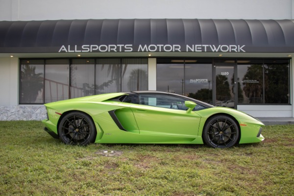 Used 2015 Lamborghini Aventador LP 700-4 Roadster | Miami, FL n2