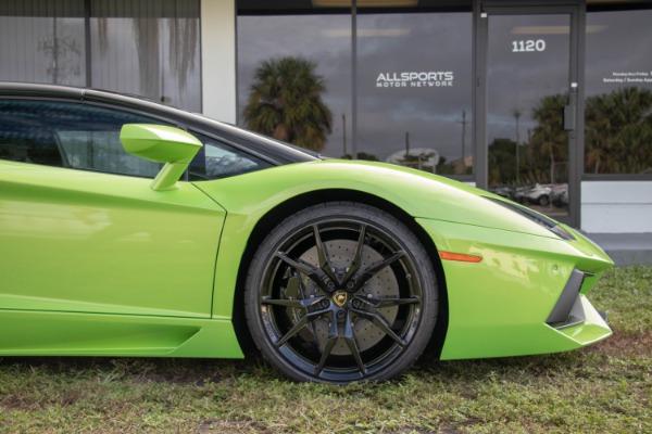 Used 2015 Lamborghini Aventador LP 700-4 Roadster | Miami, FL n22