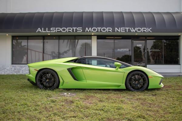 Used 2015 Lamborghini Aventador LP 700-4 Roadster | Miami, FL n24