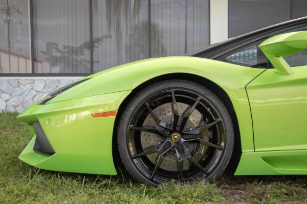 Used 2015 Lamborghini Aventador LP 700-4 Roadster | Miami, FL n26