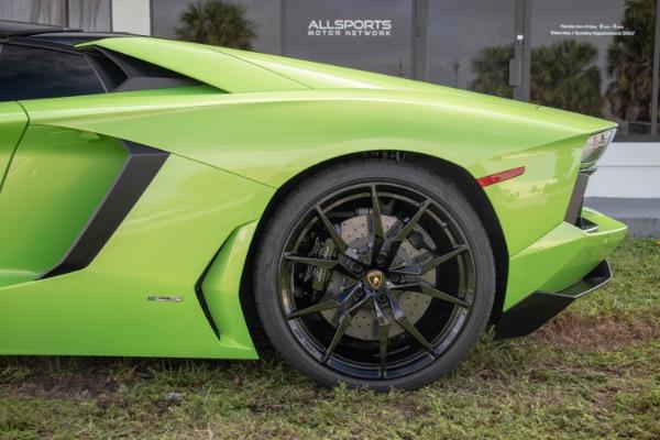 Used 2015 Lamborghini Aventador LP 700-4 Roadster | Miami, FL n28