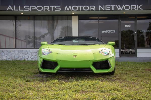 Used 2015 Lamborghini Aventador LP 700-4 Roadster | Miami, FL n3