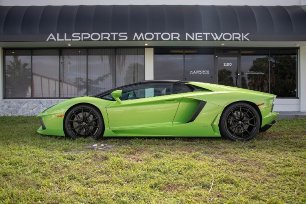 Used 2015 Lamborghini Aventador LP 700-4 Roadster | Miami, FL n30