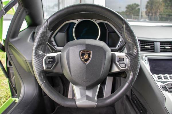 Used 2015 Lamborghini Aventador LP 700-4 Roadster | Miami, FL n39