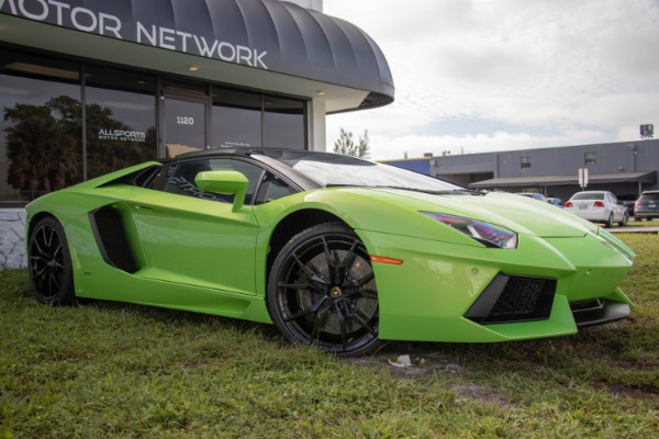 Used 2015 Lamborghini Aventador LP 700-4 Roadster | Miami, FL n8
