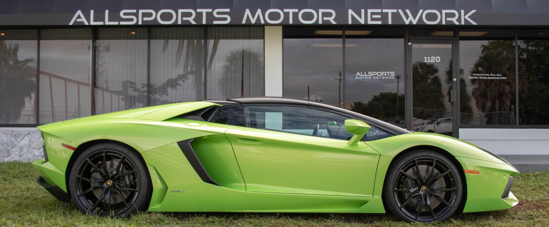 Used 2015 Lamborghini Aventador LP 700-4 Roadster | Miami, FL