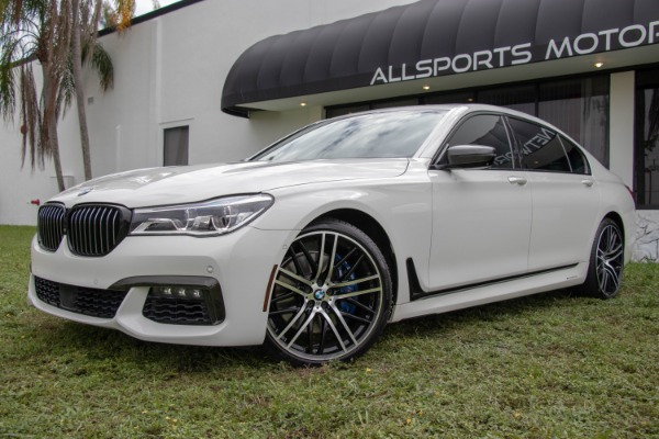 Used 2017 BMW 7 Series 750i xDrive | Miami, FL n10