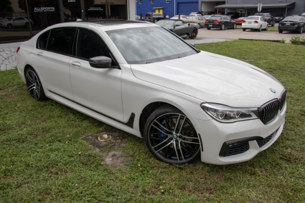 Used 2017 BMW 7 Series 750i xDrive | Miami, FL n11