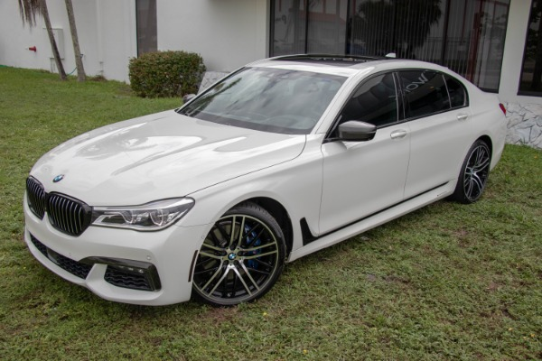 Used 2017 BMW 7 Series 750i xDrive | Miami, FL n13