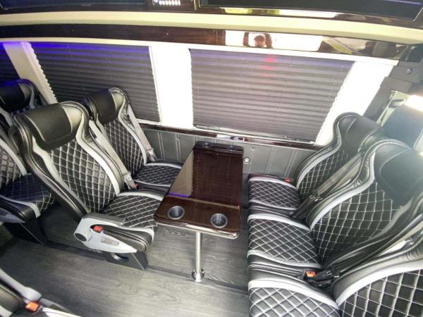 Used 2019 Mercedes-Benz Sprinter Custom 13 Passanger 3500XD | Miami, FL n12