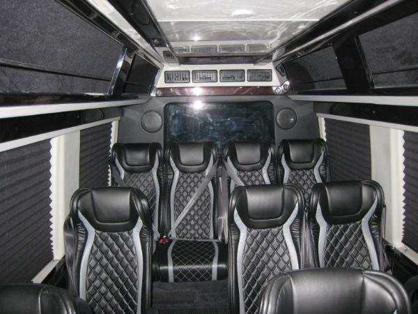 Used 2019 Mercedes-Benz Sprinter Custom 13 Passanger 3500XD | Miami, FL n15
