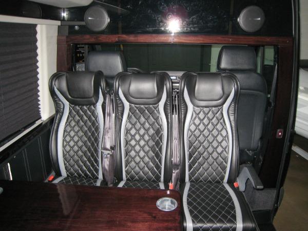 Used 2019 Mercedes-Benz Sprinter Custom 13 Passanger 3500XD | Miami, FL n9