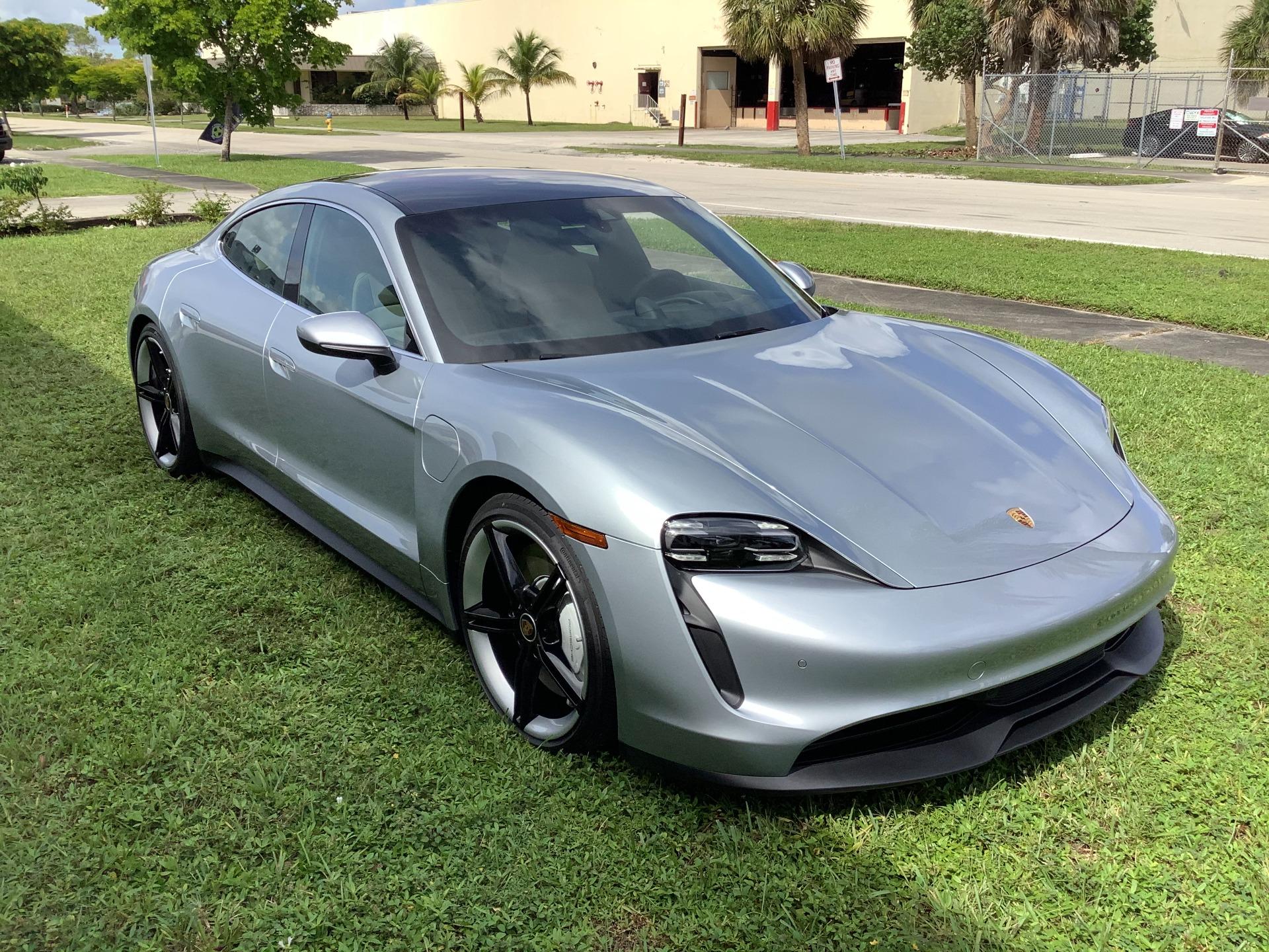 2020 Porsche Taycan 4s For Sale In Miami Fl A50698 All Sports Motor Network
