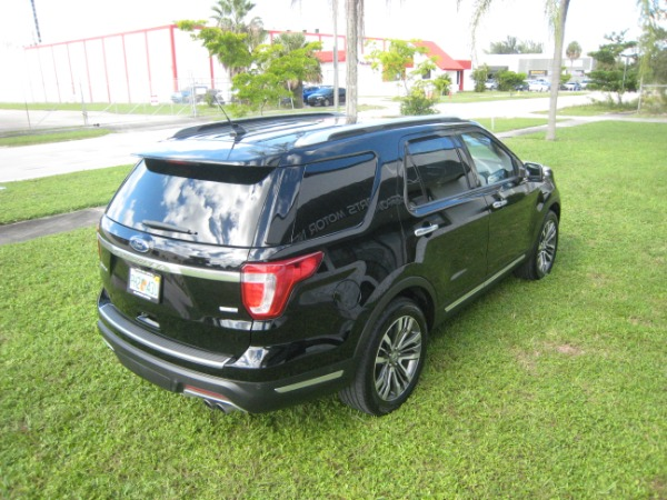 Used 2018 Ford Explorer Platinum | Miami, FL n12