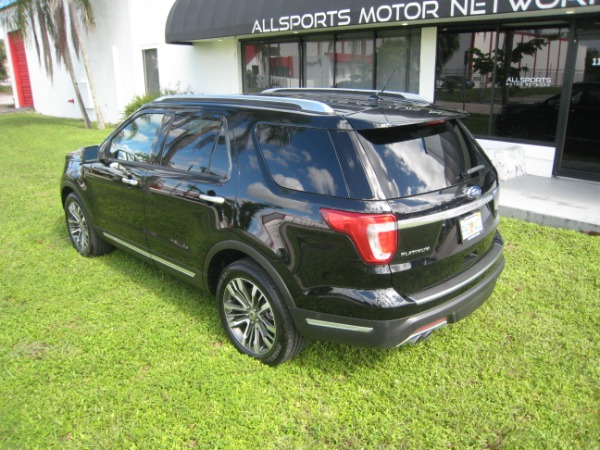 Used 2018 Ford Explorer Platinum | Miami, FL n14
