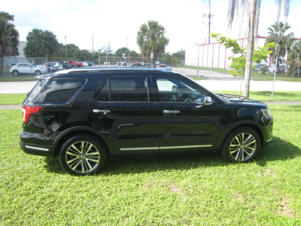 Used 2018 Ford Explorer Platinum | Miami, FL n19