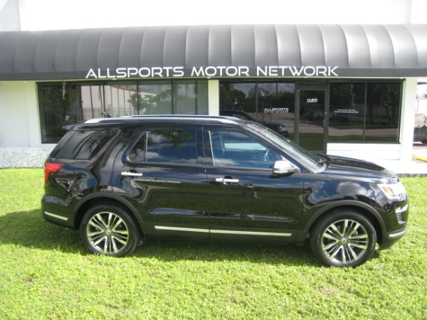 Used 2018 Ford Explorer Platinum | Miami, FL n2