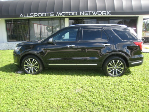 Used 2018 Ford Explorer Platinum | Miami, FL n22