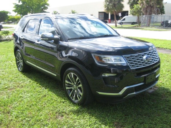 Used 2018 Ford Explorer Platinum | Miami, FL n3