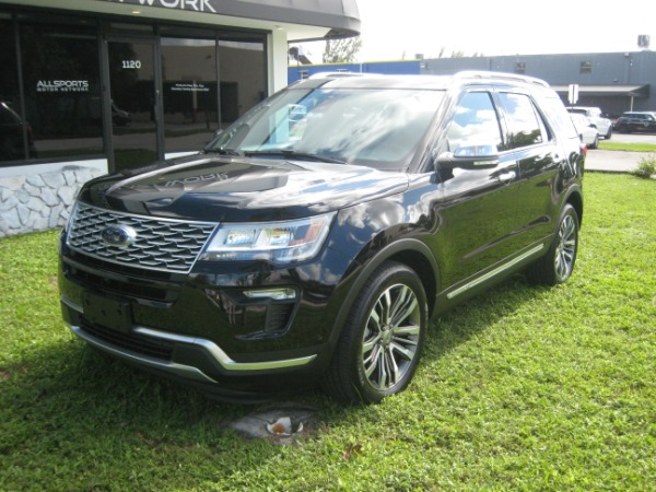 Used 2018 Ford Explorer Platinum | Miami, FL n5