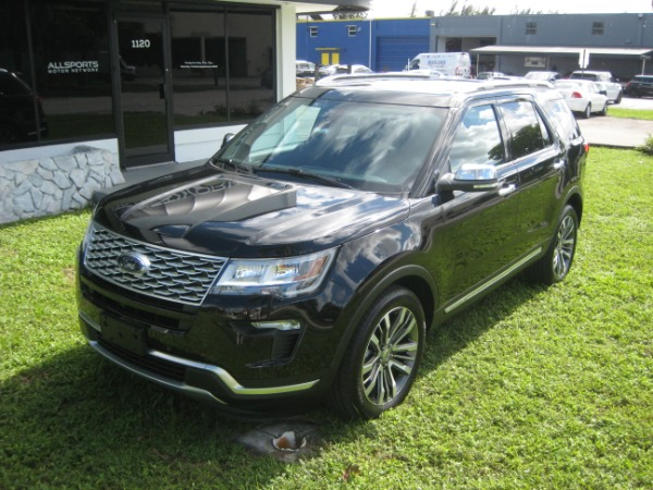 Used 2018 Ford Explorer Platinum | Miami, FL n6