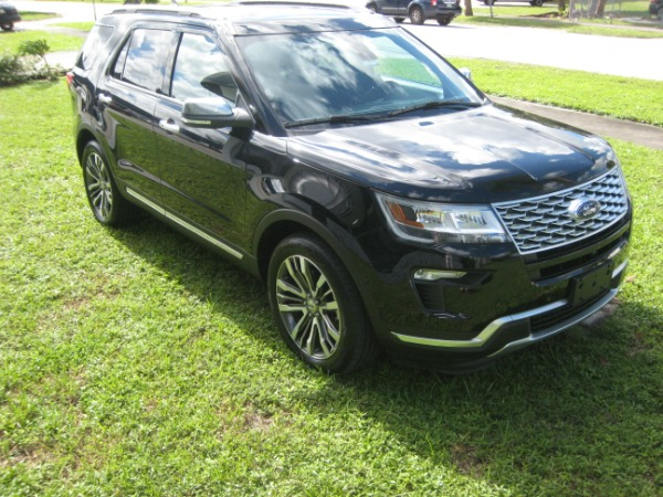 Used 2018 Ford Explorer Platinum | Miami, FL n8
