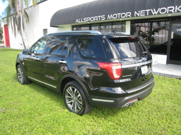 Used 2018 Ford Explorer Platinum | Miami, FL n9