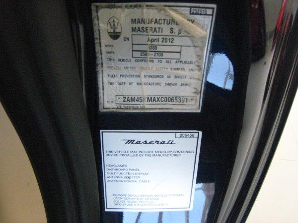 Used 2012 Maserati GranTurismo GT | Miami, FL n25