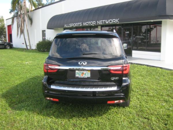 Used 2020 INFINITI QX80 Luxe | Miami, FL n7