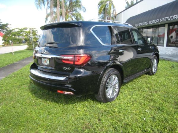 Used 2020 INFINITI QX80 Luxe | Miami, FL n8