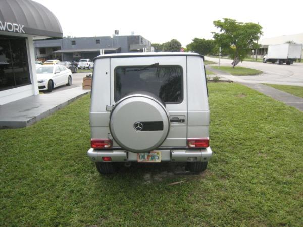 Used 2004 Mercedes-Benz G-Class G 500   Miami, FL n27
