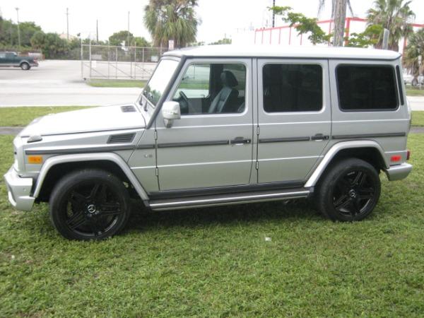 Used 2004 Mercedes-Benz G-Class G 500 | Miami, FL n40