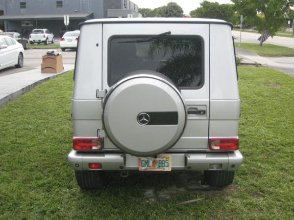 Used 2004 Mercedes-Benz G-Class G 500   Miami, FL n7