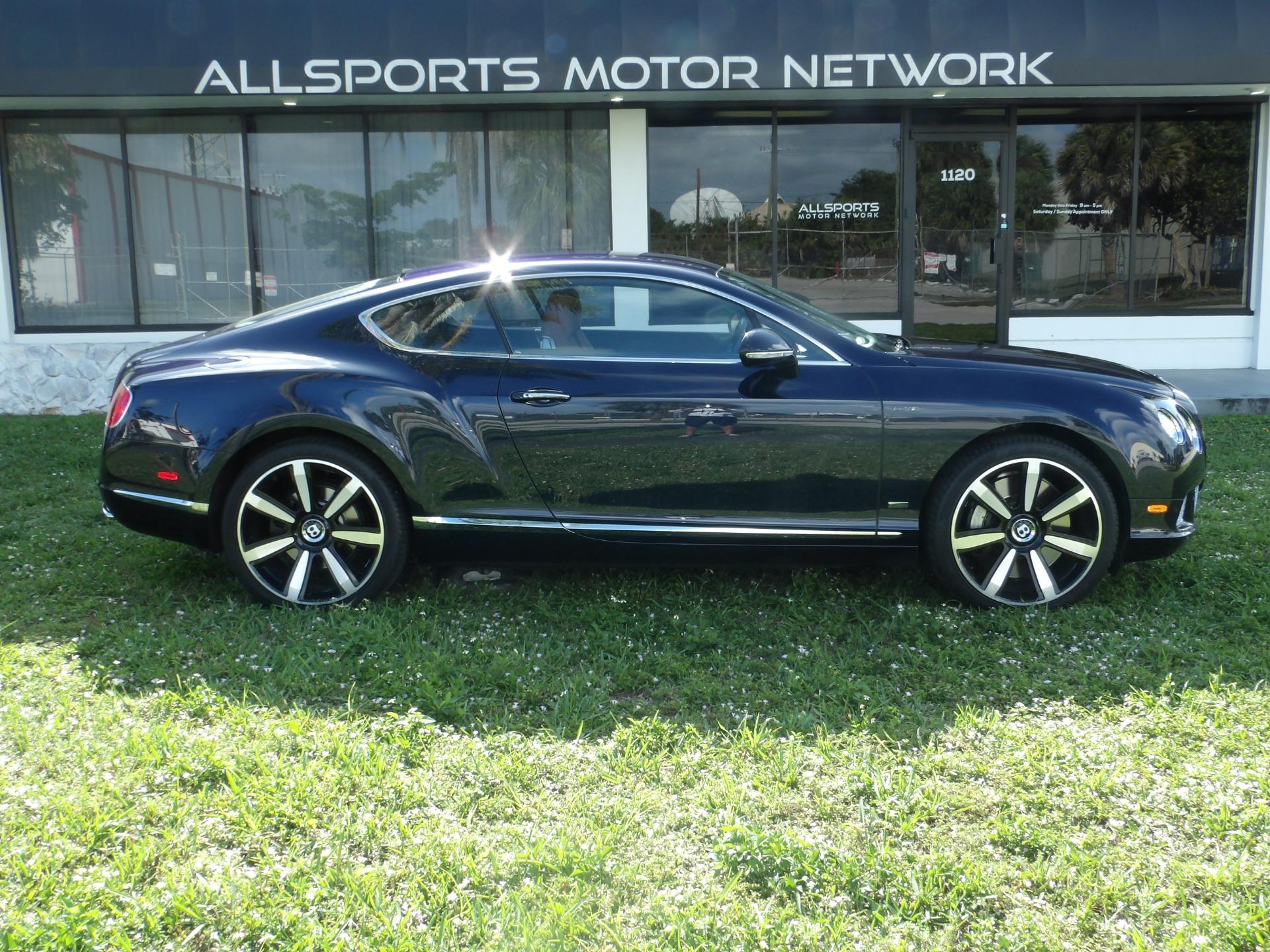Used 2013 Bentley Continental GT Le Mans Edition   Miami, FL