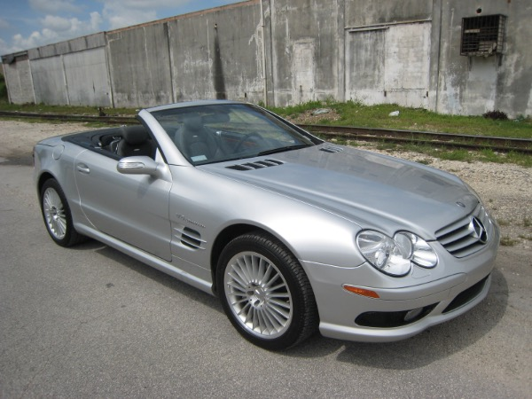 Used 2004 Merc-Benz SL 55 Rdstr AMG | Miami, FL n47