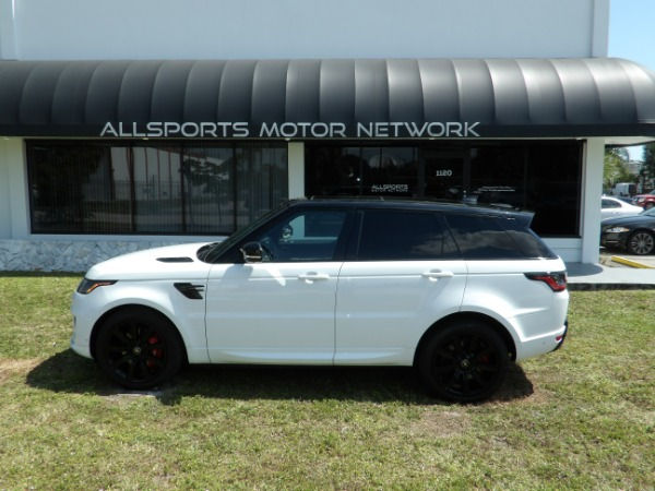 Used 2018 Land Rover Range Rover Sport V8 Supercharged Dynamic | Miami, FL n15