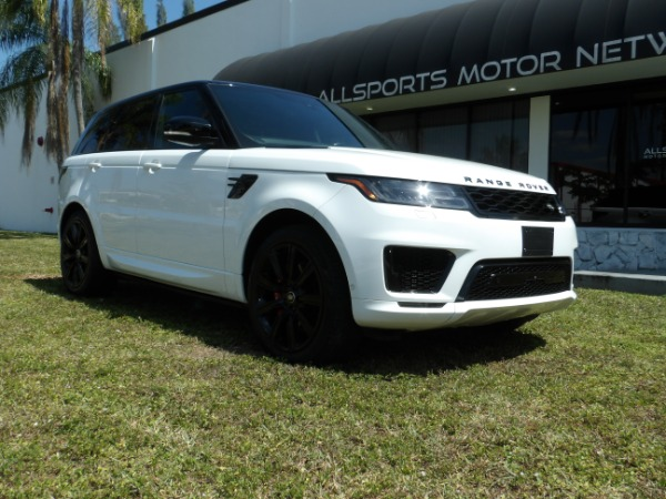 Used 2018 Land Rover Range Rover Sport V8 Supercharged Dynamic | Miami, FL n17