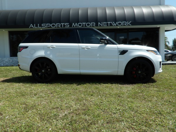 Used 2018 Land Rover Range Rover Sport V8 Supercharged Dynamic | Miami, FL n2