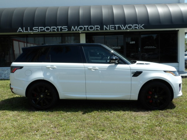 Used 2018 Land Rover Range Rover Sport V8 Supercharged Dynamic | Miami, FL n21
